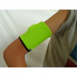 DOUBLE ARM BAND - BLACK/FLUO GREEN